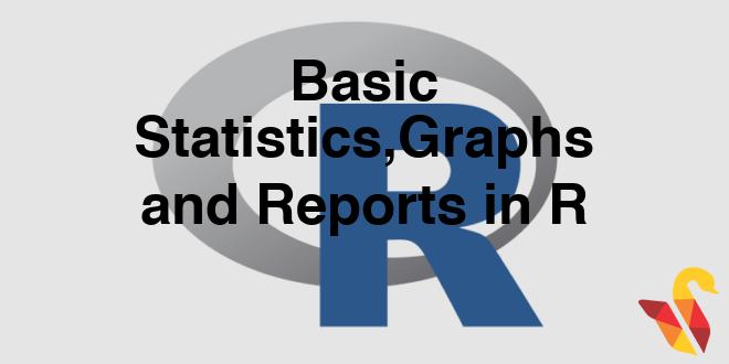 103 3 1 Basic Statistics, Graphs and Reports – Statinfer